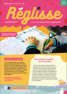 Photo de la couverture du magazine Réglisse